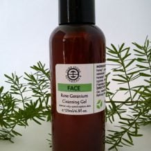 Rose Geranium Cleansing Gel