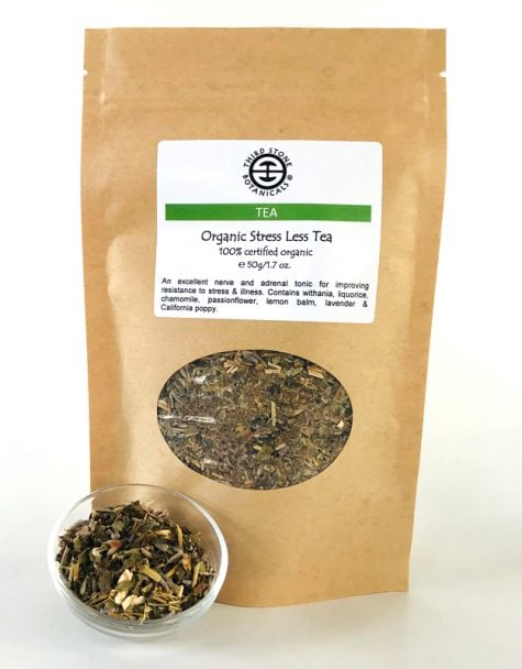 Stress Less Tea - Australian organic herbal tea