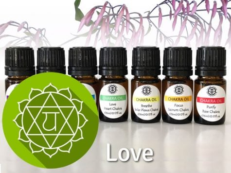Chakra Oil Blends Love