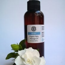 TSB Organic Baby Massage Oil 125ml