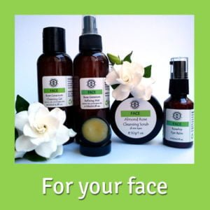 Organic skin care for your face