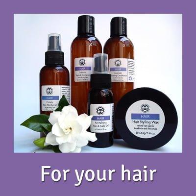 Organic Hair Care Range