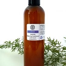 Organic Lavender Balancing Conditioner for normal to dry hair