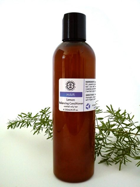 Organic Lemon Conditioner for normal to oily hair