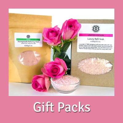 Natural Skin and Body Care Gift Packs