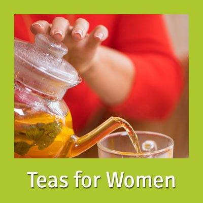 Organic teas for women's health