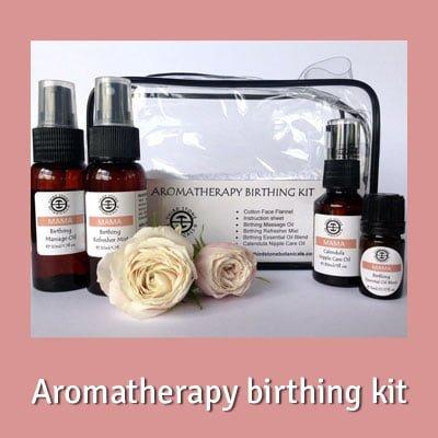 Organic Aromatherapy birthing kit